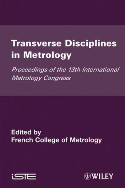 Transverse Disciplines in Metrology - Coverbild