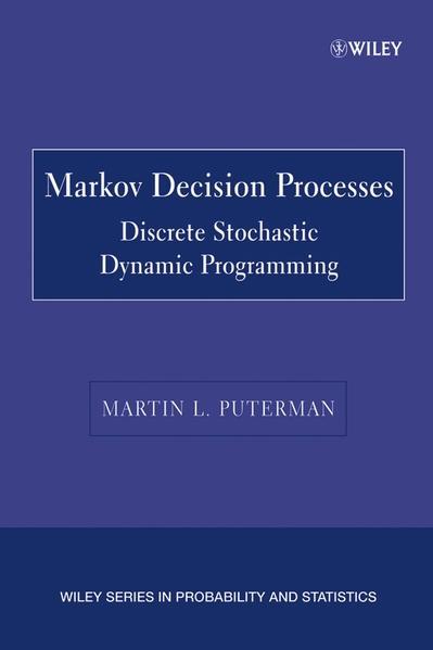 Markov Decision Processes - Coverbild