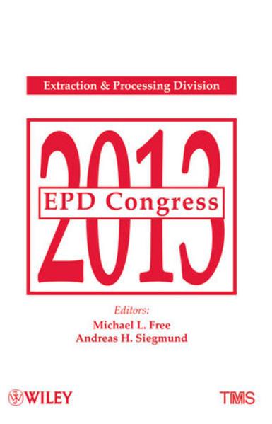 EPD Congress 2013 - Coverbild