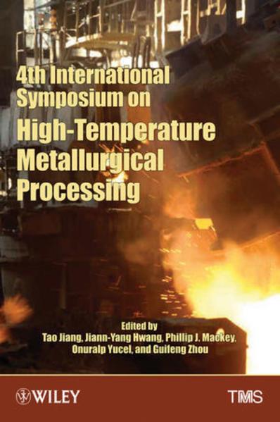 4th International Symposium on High Temperature Metallurgical Processing - Coverbild