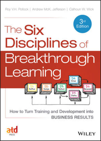 The Six Disciplines of Breakthrough Learning - Coverbild
