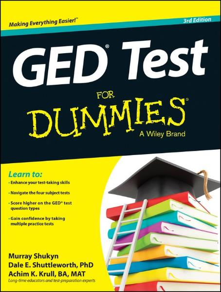 GED Test For Dummies - Coverbild