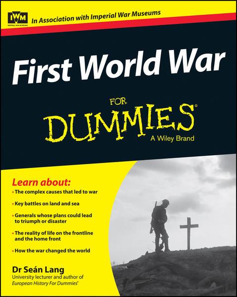 First World War For Dummies - Coverbild