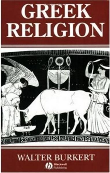 Greek Religion - Coverbild