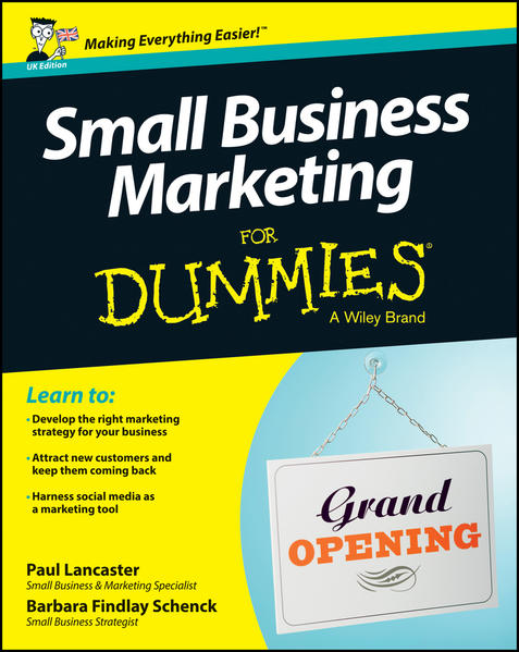 Small Business Marketing For Dummies - Coverbild