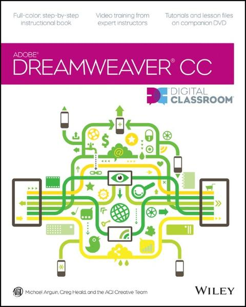 Dreamweaver CC Digital Classroom - Coverbild