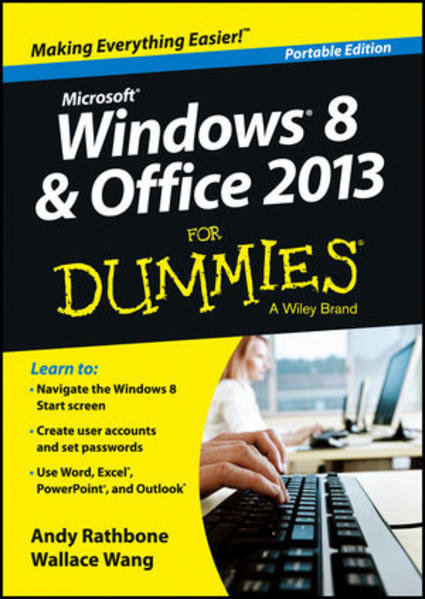 Windows 8 and Office 2013 For Dummies, Portable Edition - Coverbild