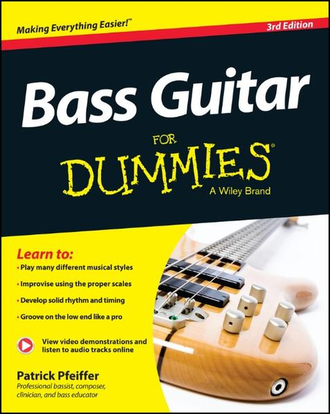 Bass Guitar For Dummies - Coverbild