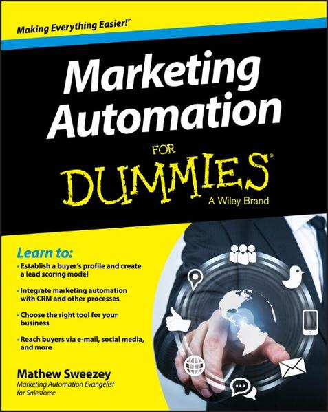 Marketing Automation For Dummies - Coverbild