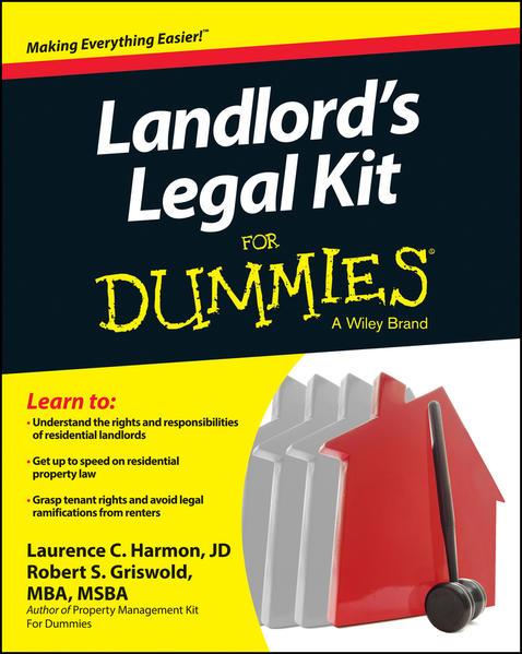 Landlord's Legal Kit For Dummies - Coverbild