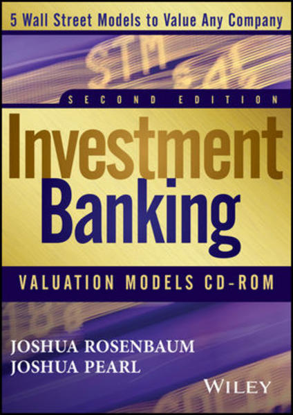 Investment Banking Valuation Models CD - Coverbild