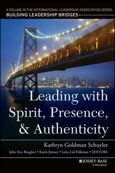 Leading with Spirit, Presence, and Authenticity - Coverbild