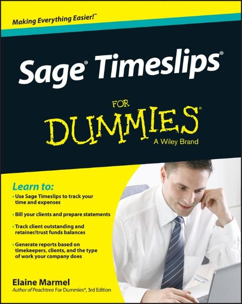 Sage Timeslips For Dummies - Coverbild