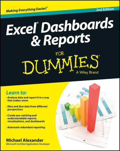 Excel Dashboards and Reports For Dummies - Coverbild