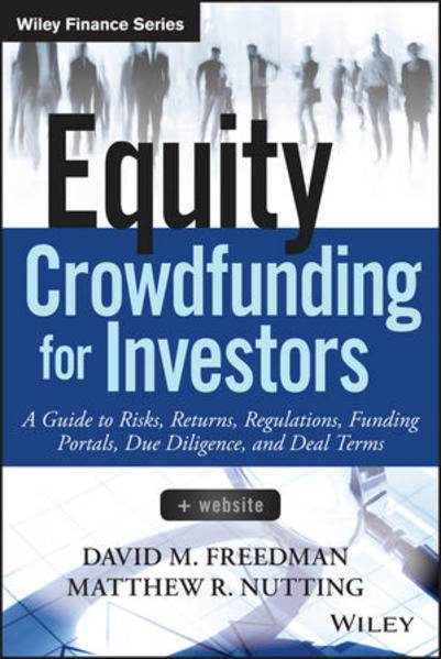 Equity Crowdfunding for Investors - Coverbild