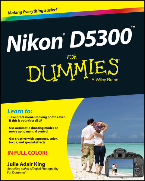 Nikon D5300 For Dummies - Coverbild