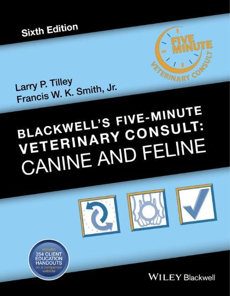 Blackwell's Five-Minute Veterinary Consult - Coverbild