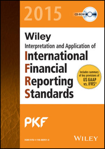 Wiley IFRS 2015: Interpretation and Application of International Financial Reporting Standards - Coverbild