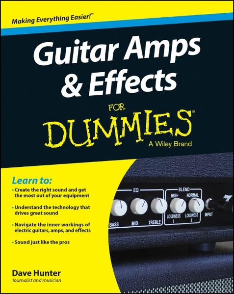 Guitar Amps and Effects For Dummies - Coverbild