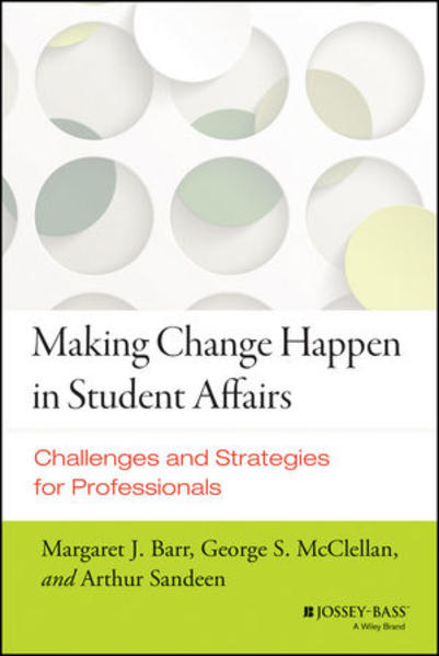 Making Change Happen in Student Affairs - Coverbild
