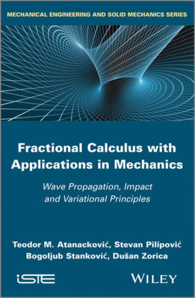 Fractional Calculus with Applications in Mechanics - Coverbild