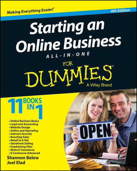Starting an Online Business All-in-One For Dummies - Coverbild