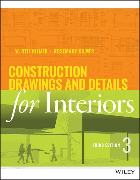 Construction Drawings and Details for Interiors - Coverbild