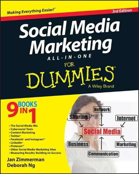 Social Media Marketing All-in-One For Dummies - Coverbild