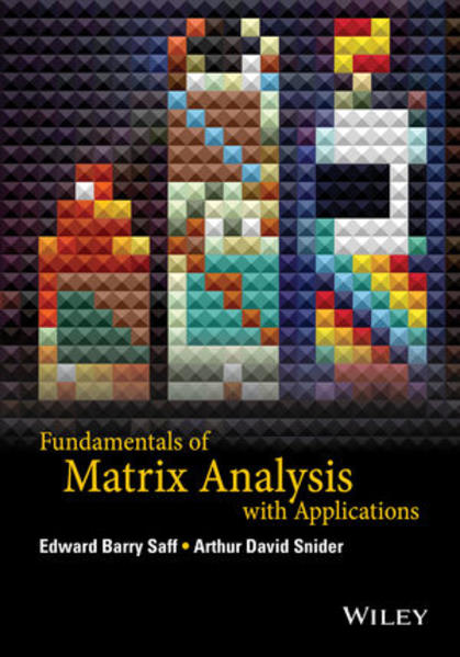 Fundamentals of Matrix Analysis with Applications - Coverbild