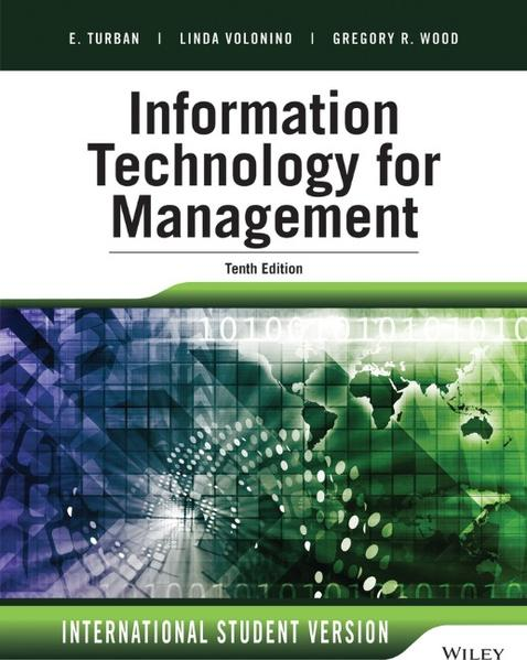 Information Technology for Management - Coverbild