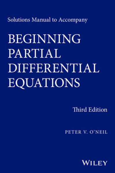 Solutions Manual to Accompany Beginning Partial Differential Equations - Coverbild