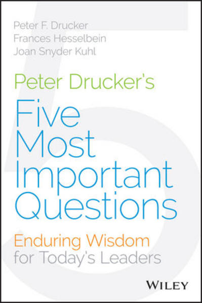 Peter Drucker's Five Most Important Questions - Coverbild