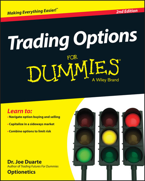 Trading Options For Dummies - Coverbild