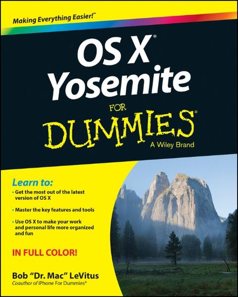OS X Yosemite For Dummies - Coverbild