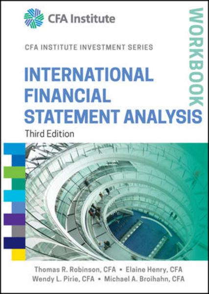 International Financial Statement Analysis Workbook - Coverbild
