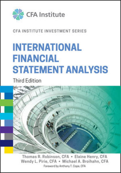 International Financial Statement Analysis - Coverbild