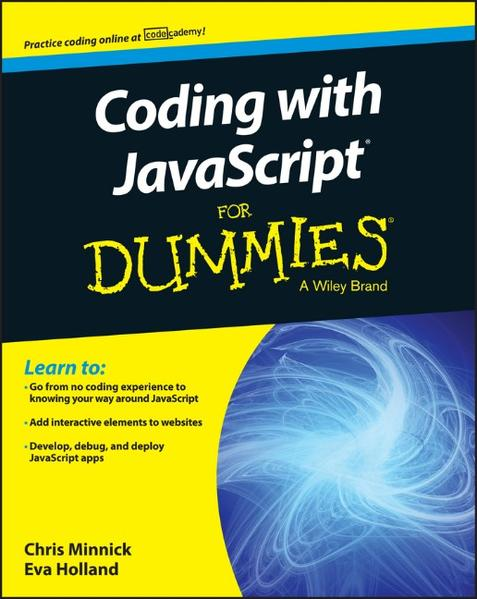 Coding with JavaScript For Dummies - Coverbild