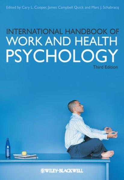 International Handbook of Work and Health Psychology - Coverbild