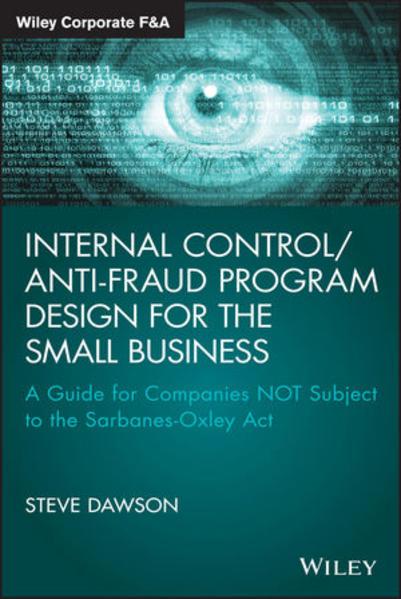 Internal Control/Anti-Fraud Program Design for the Small Business - Coverbild