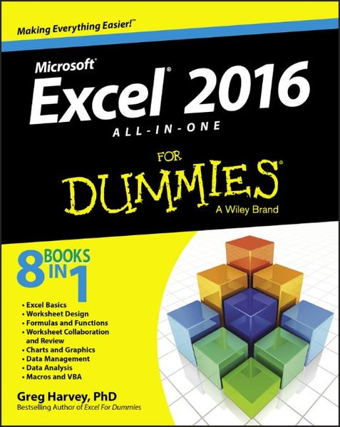 Free EPUB Excel 2016 All-in-One For Dummies