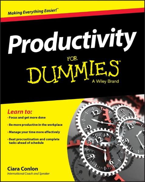 Productivity For Dummies - Coverbild