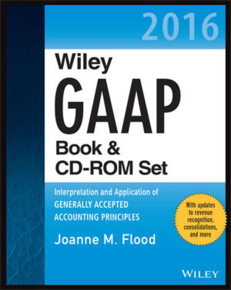 Wiley GAAP 2016: Interpretation and Application of Generally Accepted Accounting Principles Set - Coverbild