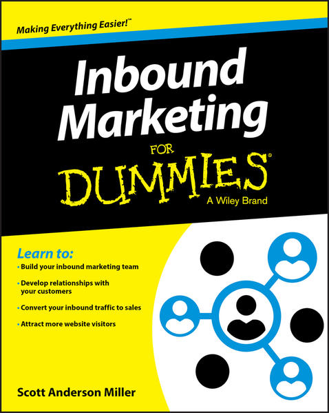 Inbound Marketing For Dummies - Coverbild