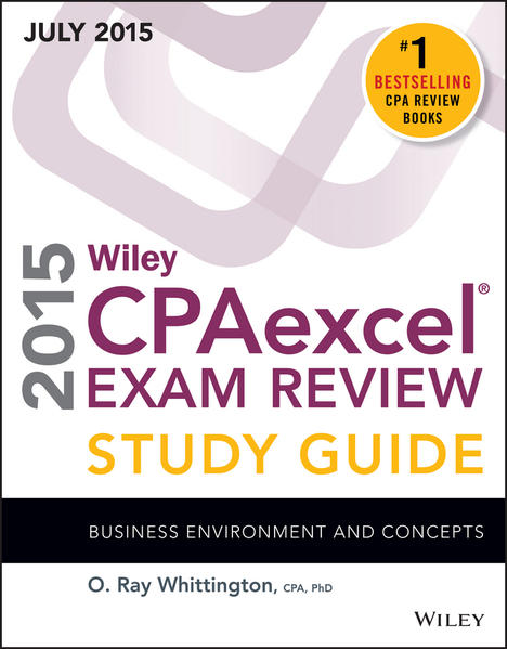 Wiley CPAexcel Exam Review 2015 Study Guide July - Coverbild