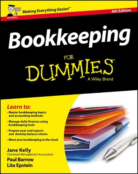 Bookkeeping For Dummies - Coverbild