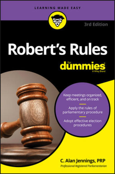 Robert's Rules For Dummies - Coverbild