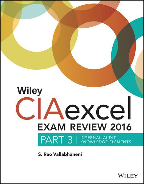 Wiley CIAexcel Exam Review 2016 - Coverbild