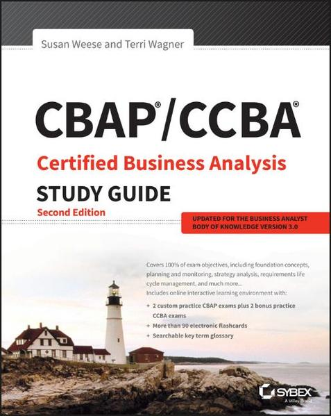 CBAP / CCBA Certified Business Analysis Study Guide - Coverbild
