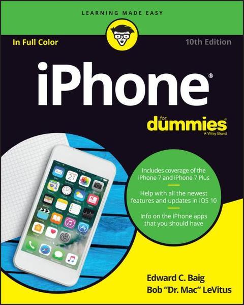 iPhone For Dummies - Coverbild
