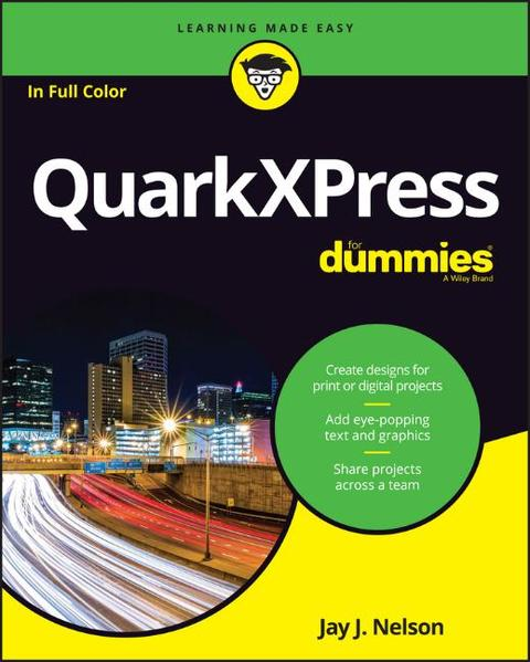 QuarkXPress For Dummies - Coverbild